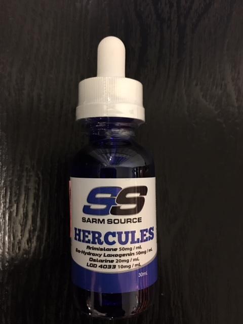 Hercules Sarm (LGD+Ostarine+Laxogenin+Arimistane) Liquid