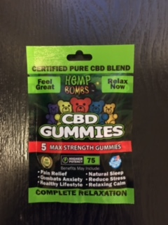 Hemp Bombs CBD Gummies 5PK